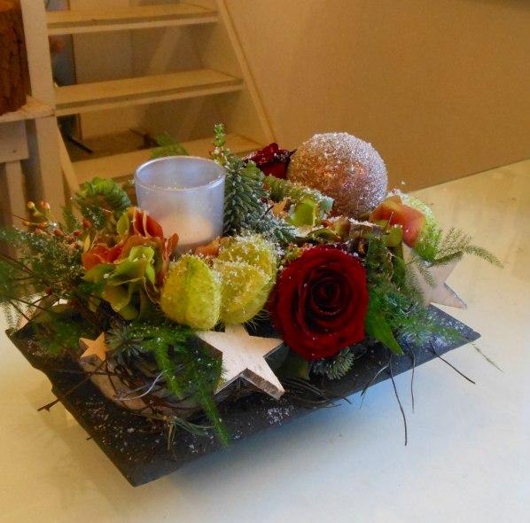 Extreem Workshop bloemschikken kerststuk - Pandora bloemen | voor iedere @SD25