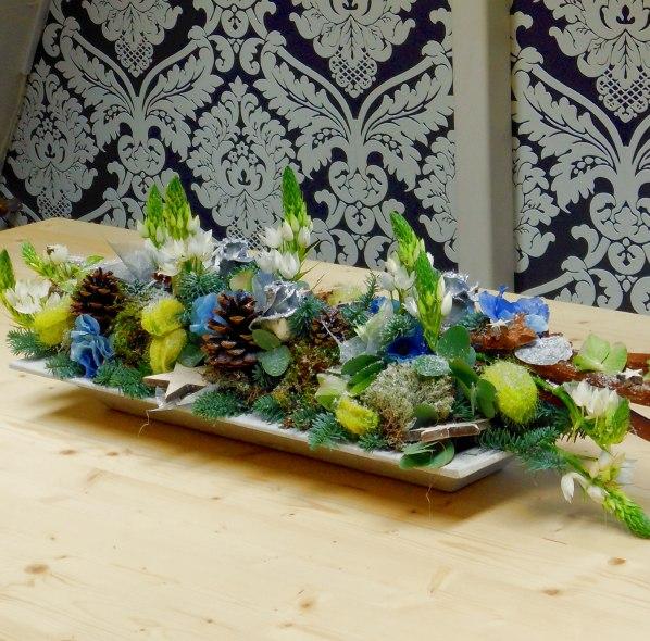 Voorkeur Workshop bloemschikken kerst tafelstuk langwerpig - Pandora &OW37